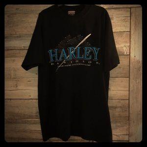 Harley-Davidson Men's Vintage T-Shirt aside Large